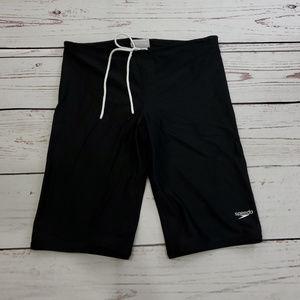 Men's Speedo Biking Shorts Size 34 | Stretch Black